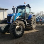 Tractor New Holland TG285, an 2006, climă, 300 CP, 4×4, IMPORT